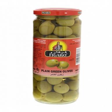 Plain Green Olives 450 Grams