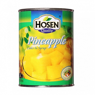Hosen Pineapple Cubes 565 Grams