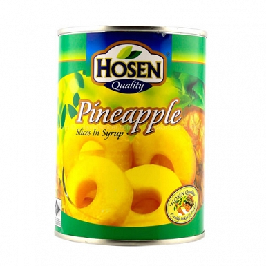 Hosen Pineapple Slices 565 Grams