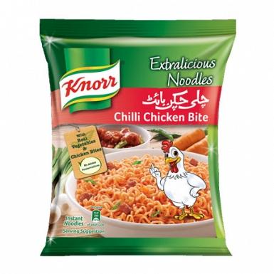 Knorr Noodles Chilli Chicken Bite 75 Grams
