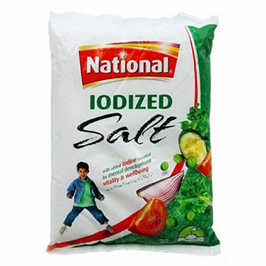 National Iodized Salt 800Grams