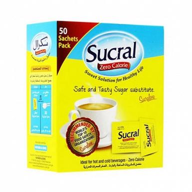 Sucral Zero Calorie Sweetener 50 Sache