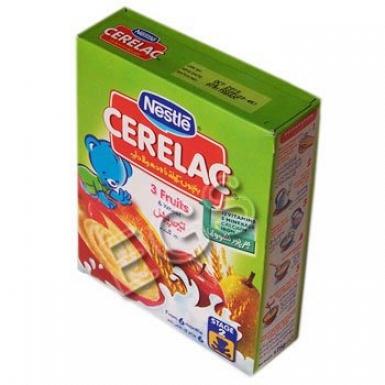 Nestle Cerelac 3 fruits 100 Grams