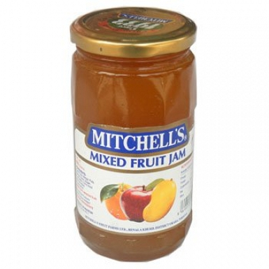 Mitchells Mix Fruit Diabetic Jam 450 Grams