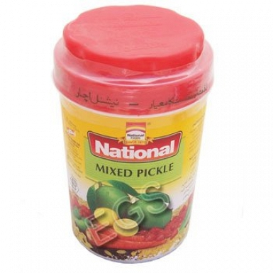 National Mixed Pickle 1000 Grams
