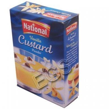 National Vanilla Custard 120Grams