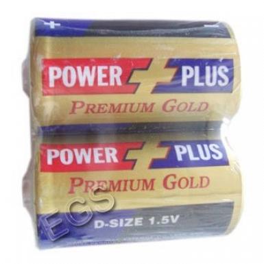 Power Plus Battery Size-D