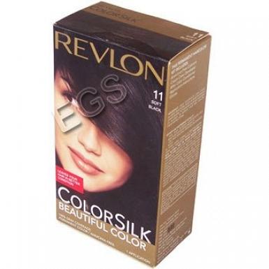 40 Grams Revlon Hair Colour Soft Black 11