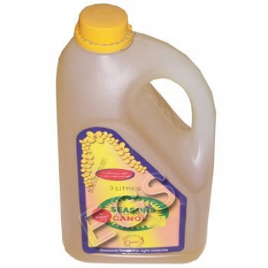 Seasons Canola Oil Bottle 3 Litre