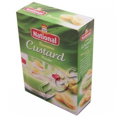 National Banana Custard Powder 120 Grams