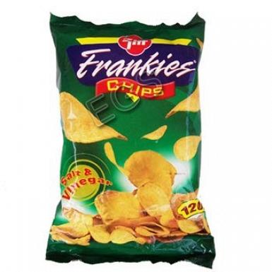 Frankies Salt & Vinegar Chips 120Grams