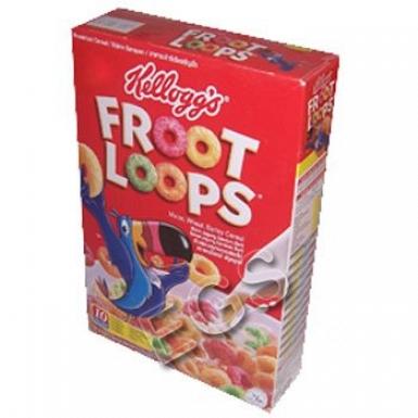 Kelloggs Fruits Loops 350 Grams