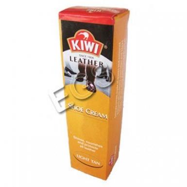Kiwi Leather Shoe Cream Light Tan 50ml