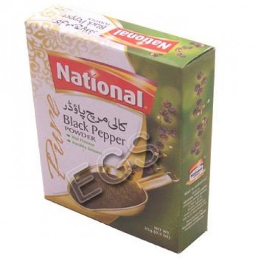 National Black pepper Powder 100Grams