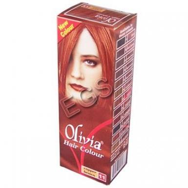 Olivia Hair Colour Brown 50ml