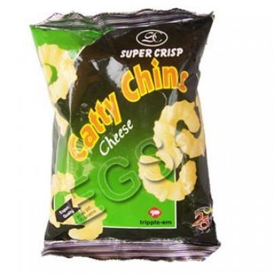 Super Crisp Catty Chins Cheese 23 Grams