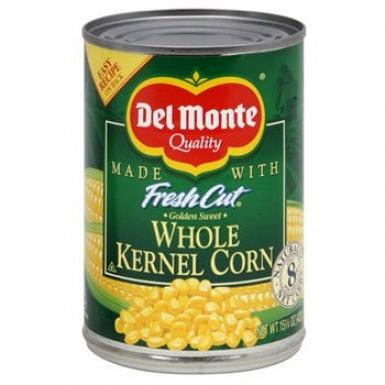 Del Monte Whole Kernel Corn 150 Grams