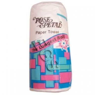 Rose Petal Paper Towel Roll