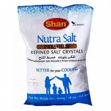 Shan Nutra Salt Premium Refined 800Grams