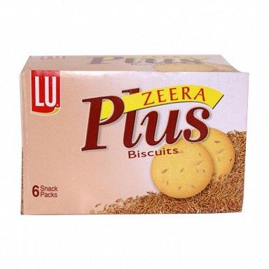 LU Zeera Plus Biscuits Half Roll Box