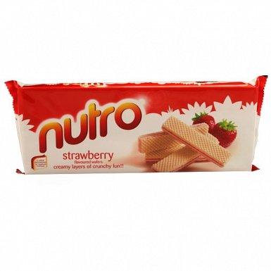 Nutro Strawberry Wafer 80Grams