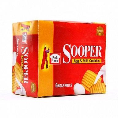 Peek Freans Sooper Egg & Milk Cookies- Box of Half Roll